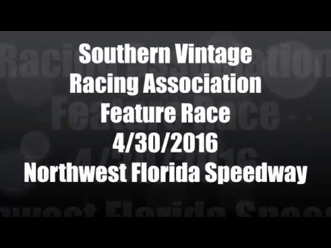 Southern Vintage Racing Association 4/30/16 NWFL Speedway Feature Race