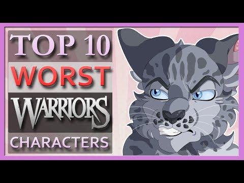 Top 10 WORST Warrior Cats Characters