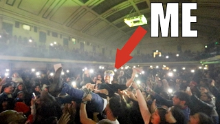 I FINALLY DID IT....I WENT CROWD SURFING!!!