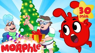 The Good Christmas Bandits My Magic Pet Morphle  Cartoons For Kids  Morphle TV  BRAND NEW