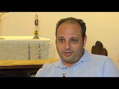 """Syrian Christian refugee welcomed in Vatican parish: """"God has always been by my side"""""""