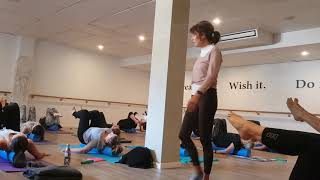 Pilates Lane Cove at Soulful Fitness Using the Roller