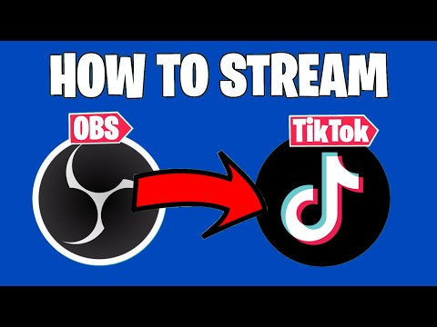 How To Stream To TikTok Live Without A Phone - OBS 2021 Tutorial