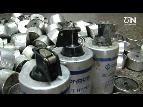 Especial  Bombas lacrimogenas de últimas Noticias