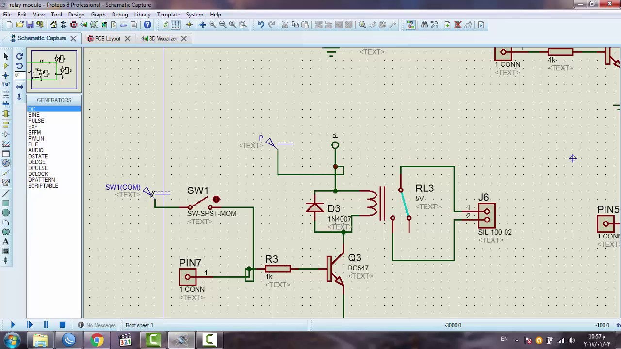 5-relay Module Circuit Diagram And Pcb