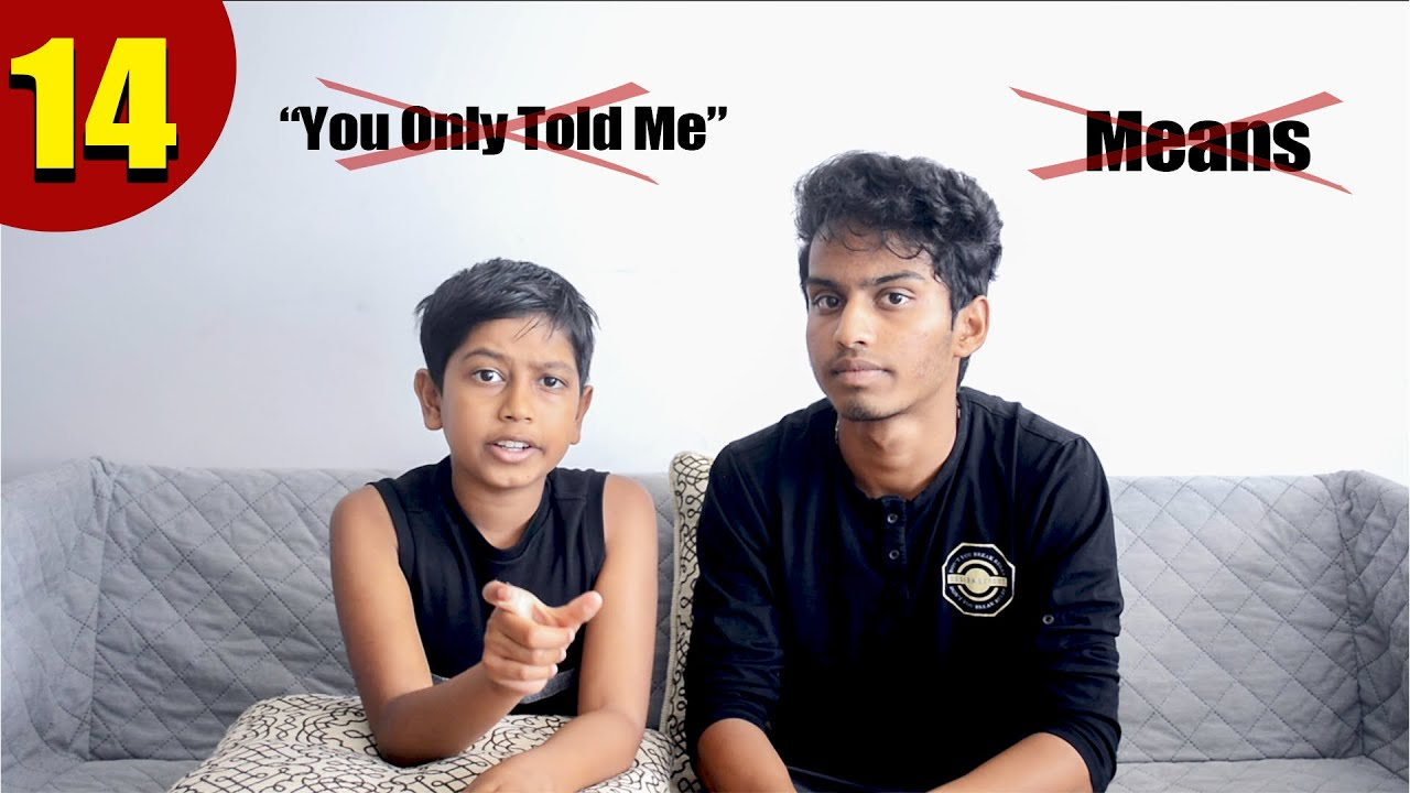 "DON'T USE ""MEANS"" 