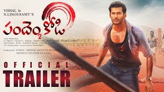 Pandem Kodi 2 Official Telugu Trailer    Vishal, Keerthi Suresh   Yuvanshankar Raja   N Lingusamy