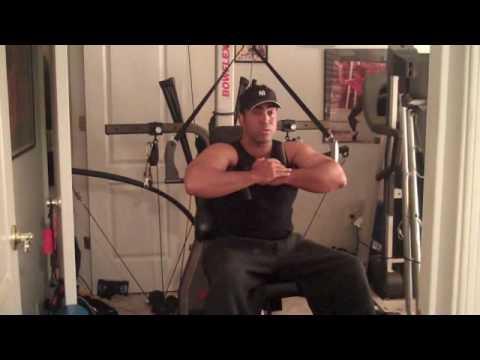 Bow Flex Ab training with Julian