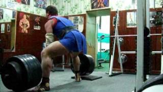Становая тяга 350 кг. на 2 раза Опята Владимир