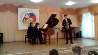 Nikita Zimin   Paul Creston – Sonata for Alto Saxophone and Piano