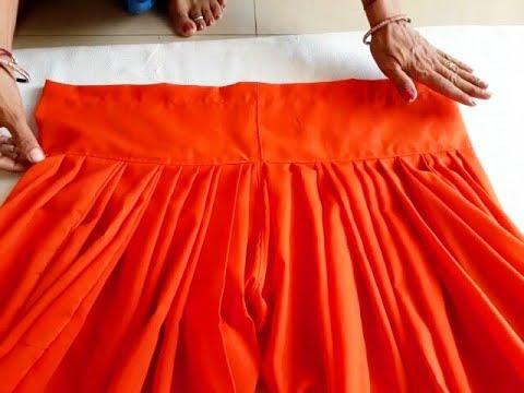 semi patiala salwar cutting and stitching in hindi thumbnail
