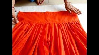 semi patiala salwar cutting and stitching in hindi
