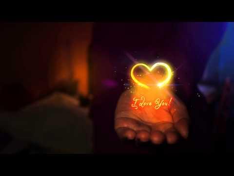 Видео открытка Я Тебя Люблю