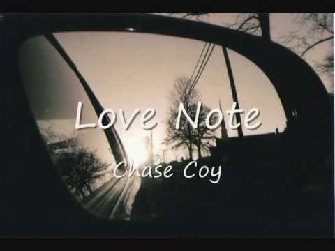 Chase coy love note