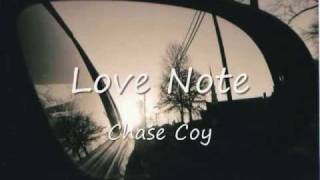 Watch Chase Coy Love Note video