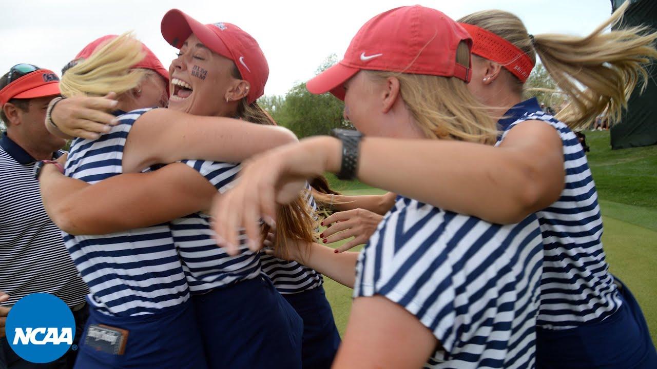 Ole Miss wins 2021 NCAA women's golf championship | Final putt