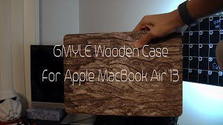 Best case for the Apple Macbook Air 13 GMYLE Wood Series