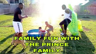 FAMILY FUN WITH THE PRINCE FAMILY