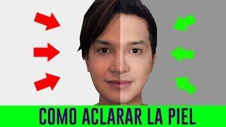 COMO ACLARAR LA PIEL QUEMADA POR EL SOL CON CONCHA DE NACAR   MASCARILLAS CASERAS BLANQUEAR LA PIEL