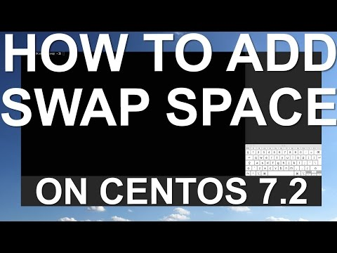 How To Add Swap on CentOS 7.2