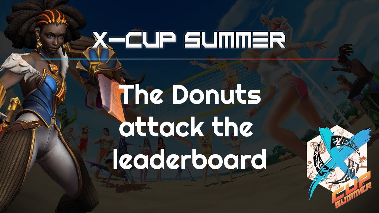 Donuts attack the leaderboard - Heroes of the Storm 2021
