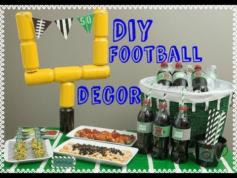 Homemade Super Bowl Decorations DIY Super Bowl Party Decor Super Bowl Decorations Do It 2