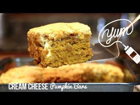 Featured Recipe Applesauce Pumpkin Bars