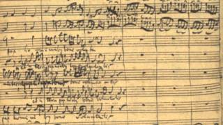 "(ロ短調ミサ曲 バッハ自筆譜) BWV232:Messe in h-moll ""Gloria, Et in terra pax"" with Composer"
