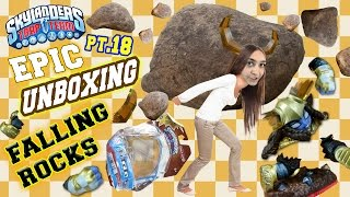 FALLING ROCKS! Nitro Head Rush Epic Unboxing pt.18 w/ Sky Mom (Skylanders Trap Team #NitroHeadCrush)