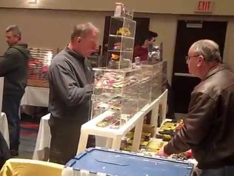 Bob Beers 2017 SuperBowl Slot Car Show – part 1