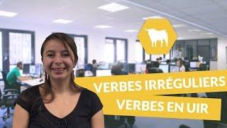 Les verbes irréguliers à modification orthographique - verbes en uir - Espagnol