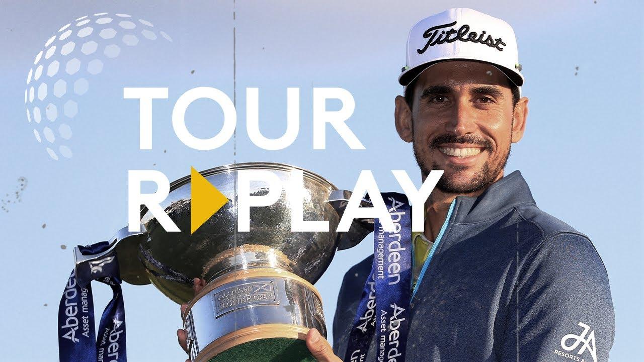 Final Day Broadcast | Rafa Cabrera Bello wins the 2017 Scottish Open | Tour Replay