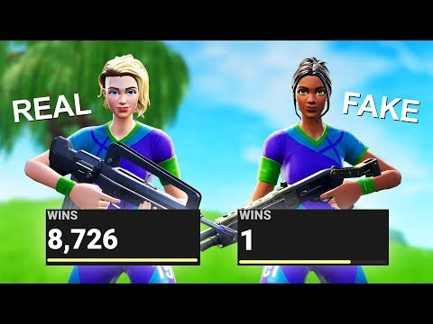 i EXPOSE FAKE SOCCER SKINS stats in Fortnite... (new default skin)