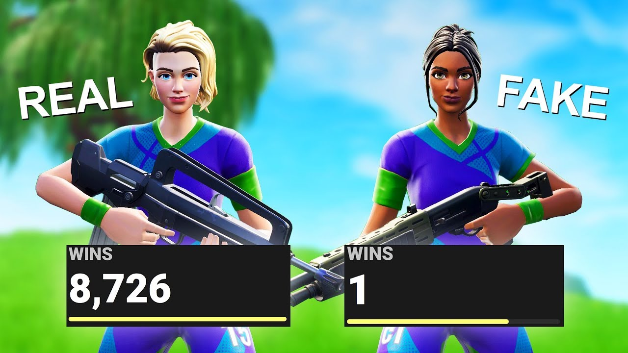 I Expose Fake Soccer Skins Stats In Fortnite New