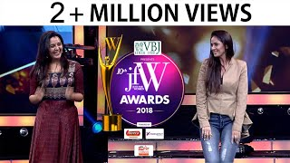 Simran and Manju Warrier Dance at JFW awards 2018