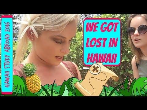 WE GOT LOST IN HAWAII 😱 - Hawaii Study Abroad VLOG (May 14, 2016)
