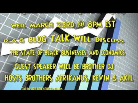 The State of Black Businesses and Economics  3-23-16
