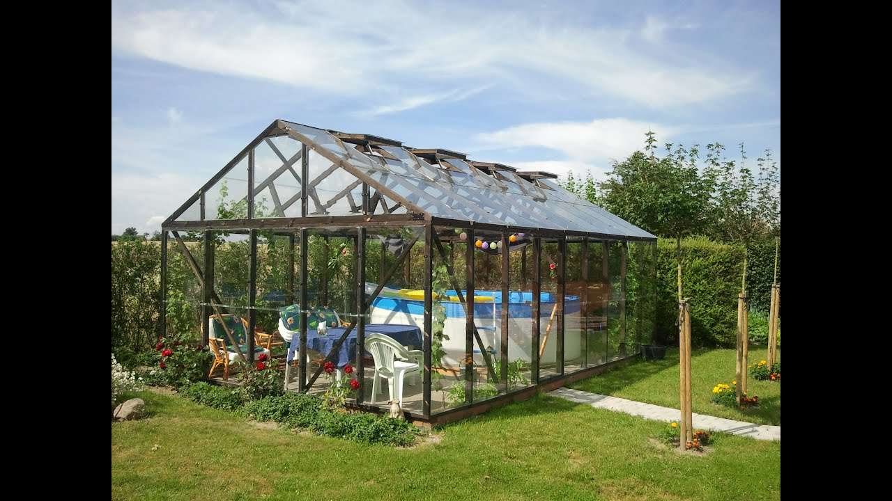 Build Your Own Greenhouse In Wood Youtube