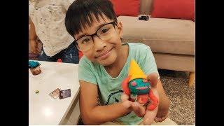 Hướng dẫn làm kem Playdoh - Minh An Channel