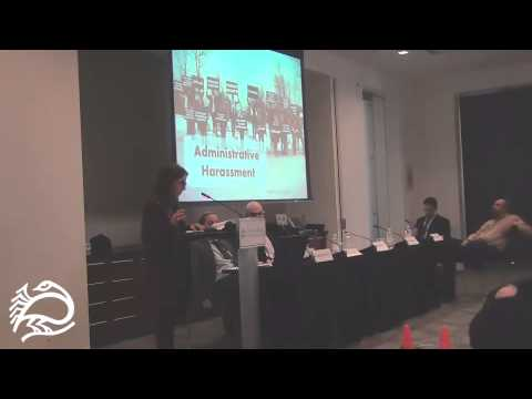 Legal Assault on Palestinian Rights Activism Pt. 3 - Dima Khalidi - 11/21/14