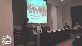 Legal Assault on Palestinian Rights Activism Pt. 3 - Dima Khalidi - 11/21/14