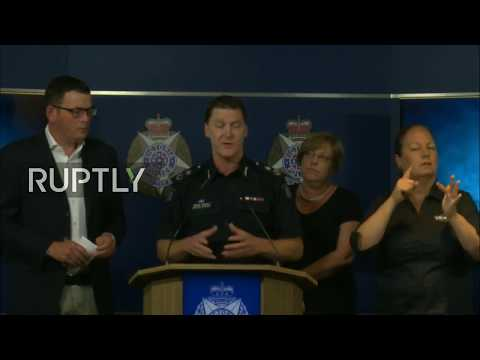 LIVE: Police hold press conference following Melbourne incident