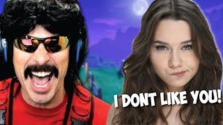 DrDisrespect Plays with a Weird GIRL in Fortnite and Trolls Her! (4/12/2019)