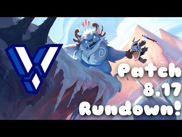 Valkrin - League of Legends 8.17 Patch Rundown