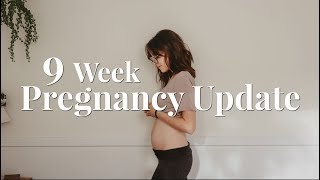 CONFUSING ULTRASOUND RESULTS?   9 WEEK PREGNANCY UPDATE + BUMP SHOT   BABY #2
