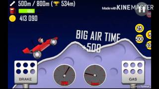 Hill Climb racing Как легко заработать деньги Сальто на Луне 720p