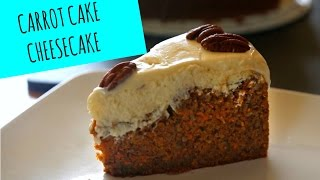 Carrot Cake Cheesecake - Fall Recipes - La Cooquette