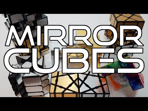 Geo Cube + Mirror Cubes | Unboxing From TheCubicle.us