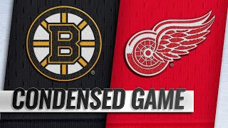 03/31/19 Condensed Game: Bruins @ Red Wings