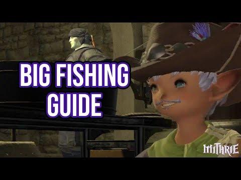 FFXIV 2.35 0395 Big Fishing Guide